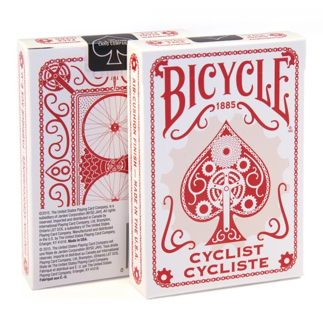 Bicycle Cyclist Deck (Piros)