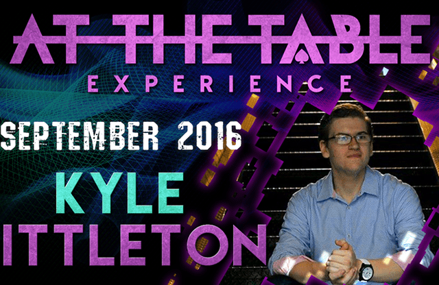At the Table Live Lecture Kyle Littleton September 7th, 2016