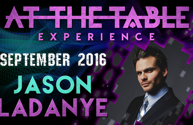 At the Table Live Lecture Jason Ladanye September 21st, 2016