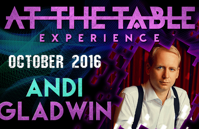 At The Table Live Lecture Andi Gladwin October 5th 2016