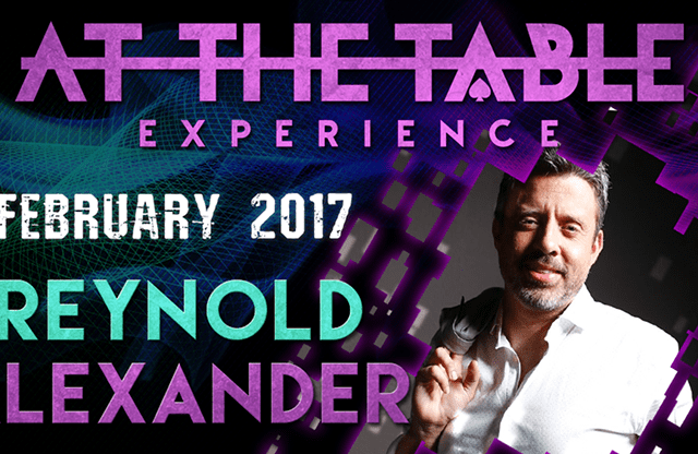 At The Table Live Lecture Reynold Alexander February 1st 2017