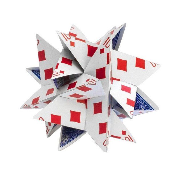 3D Card Star - Kártyacsillag