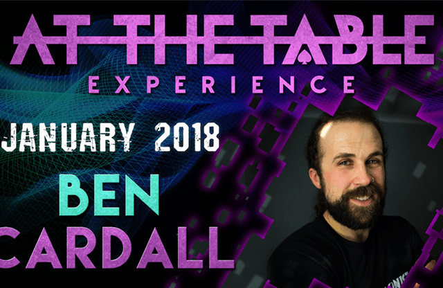 At The Table Live Lecture Ben Cardall January 17 2018