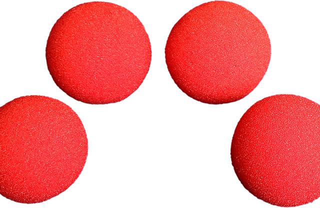 """Szivacslabda (1.5"""", piros)"""