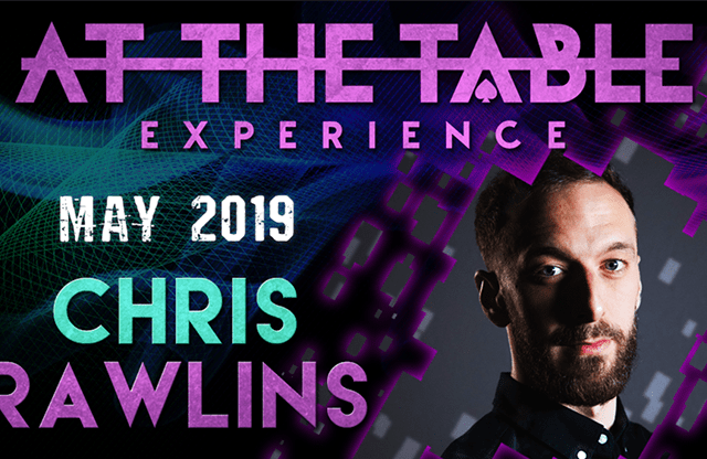 At The Table Live Lecture Chris Rawlins 2 May 15th 2019