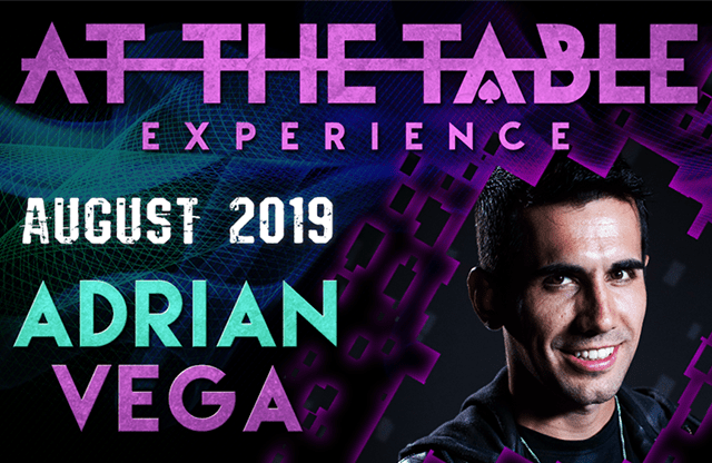 At The Table Live Lecture Adrian Vega August 7th 2019