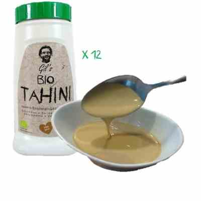 Tahini Biologique (Pâte De Sésame)12x908g