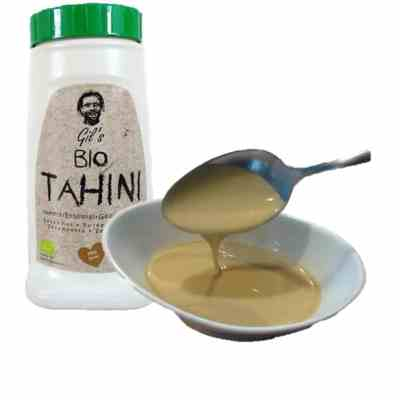 Økologisk Tahini (Tahin, sesampasta)