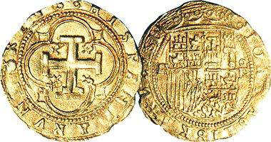 the Spanish Gold Doubloons were perhaps the most popular of the various  colonial US gold coins