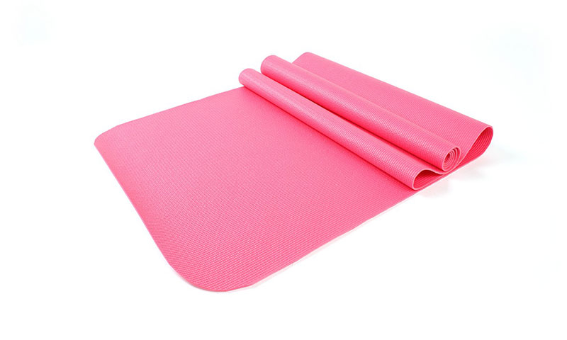 hot sale pink PVC yoga mat
