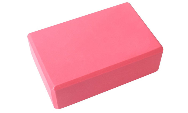 pink EVA yoga block