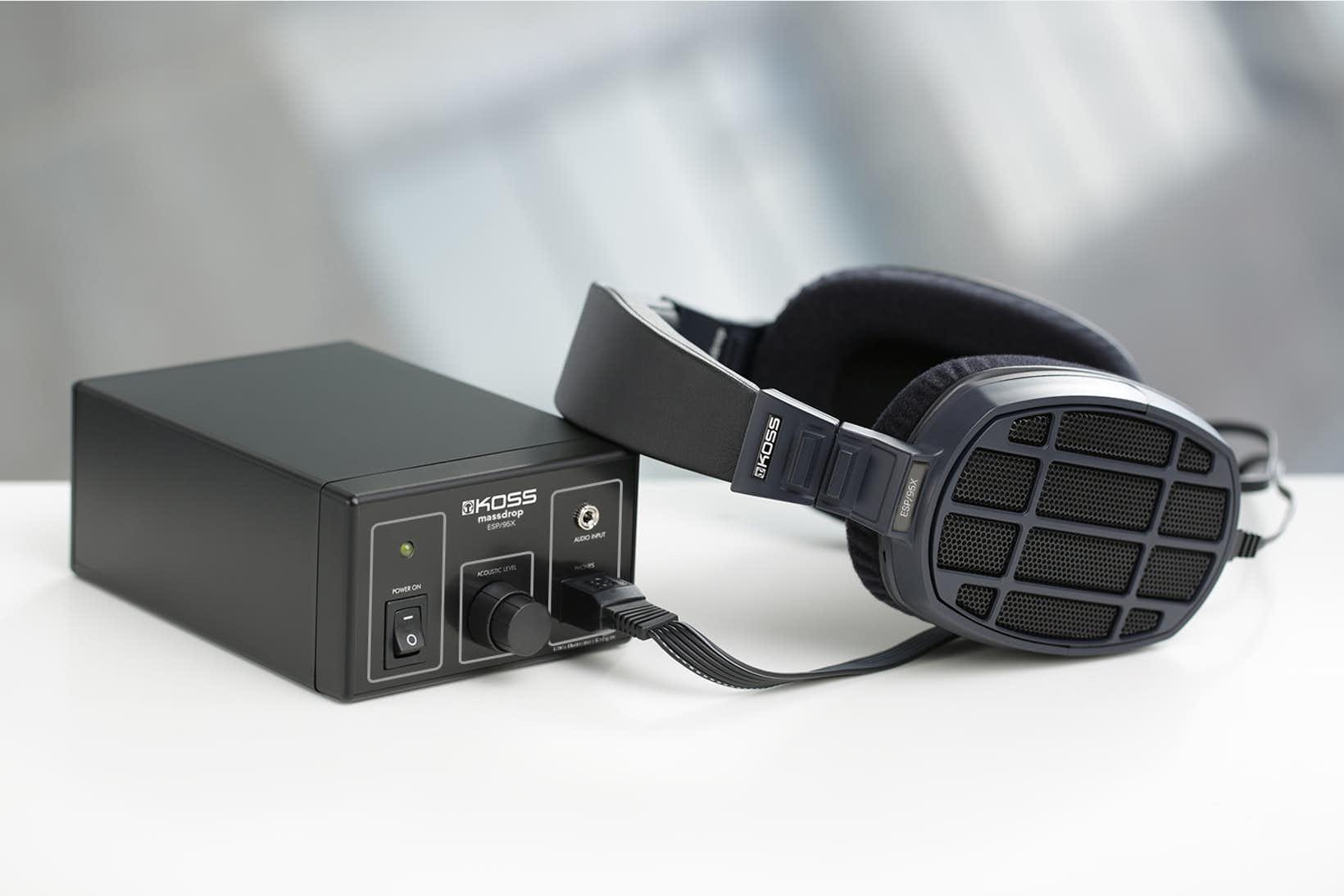 Massdrop耳機精選推介:復刻29年前的傳奇 KOSS ESP/95X靜電耳機 | Buyandship 國際網購轉運(澳門)