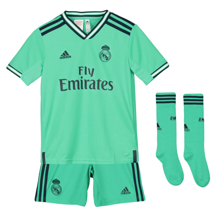 Real Madrid 19/20 Authentic Third Kids Kit