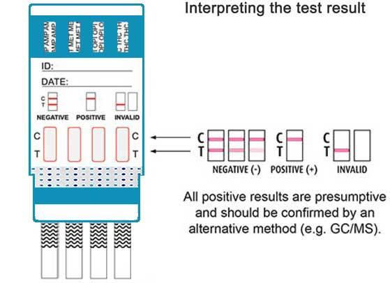 4 panel drug test ES