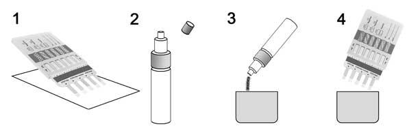 Surface Drug Test-12 drug