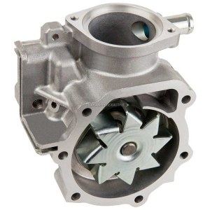 2003 Subaru Forester Water Pump 25L Engine with Manual