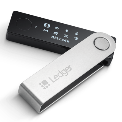 ledger nano x folded