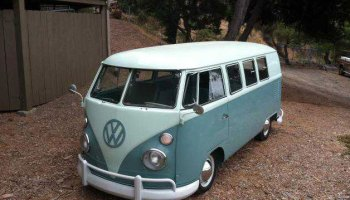 1964 VW Camper 21 Window Walk Through on White - Buy Classic