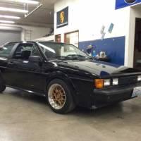 VW Black Scirocco 16V For Sale