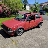 Up For Sale 1984 VW Rabbit GTI