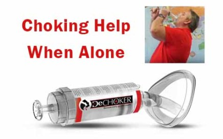 Choking Help When Alone