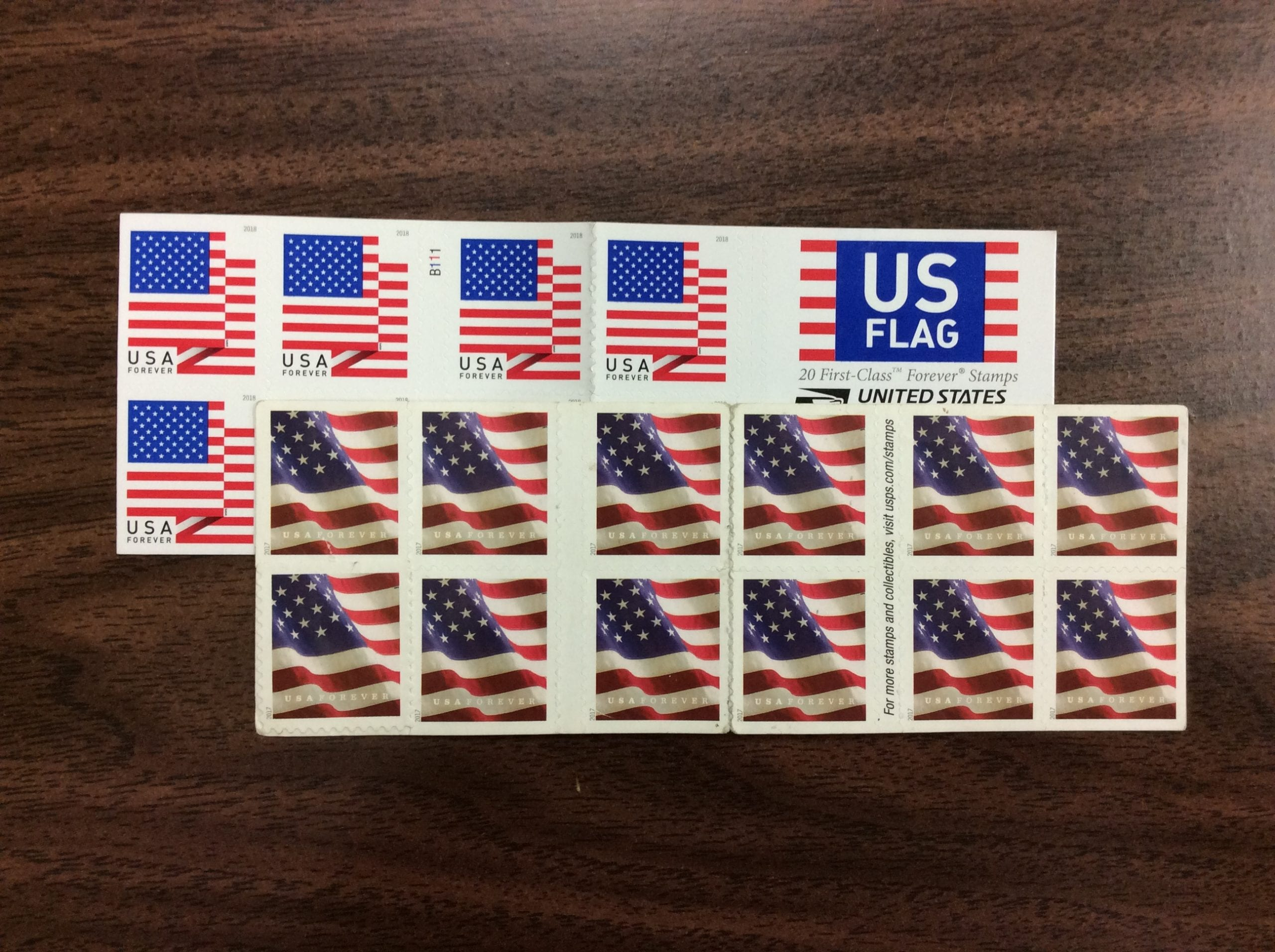 Usable Forever® Stamp Lot ($500 00 Face Value)