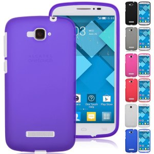 Soft TPU Silicone Gel Case Cover for Alcatel One Touch Pop