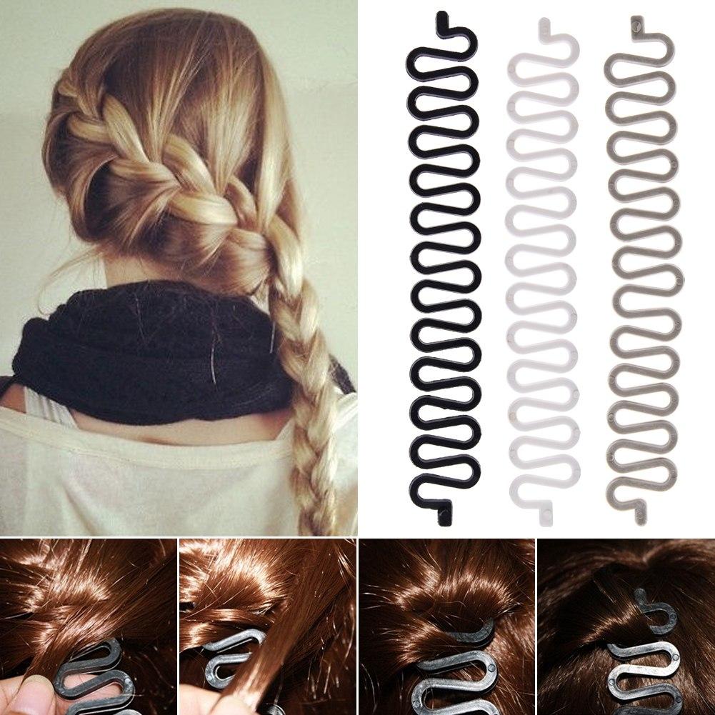 French Hair Braid Tool Magic Twist Styling Bun Maker