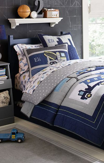 Construction Quilted Bedding