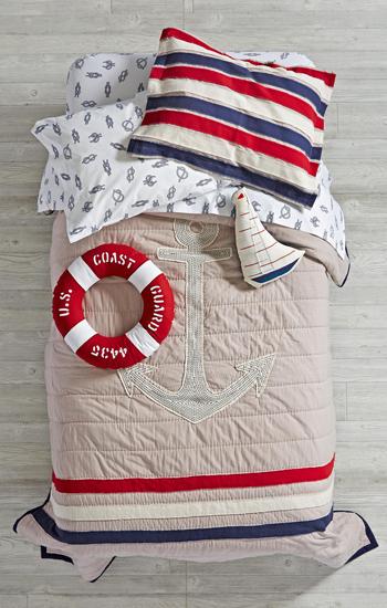 High Seas Nautical Bedding