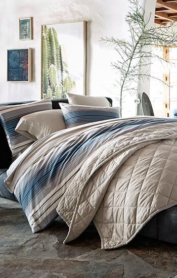 Sundown Stripe Duvet Cover