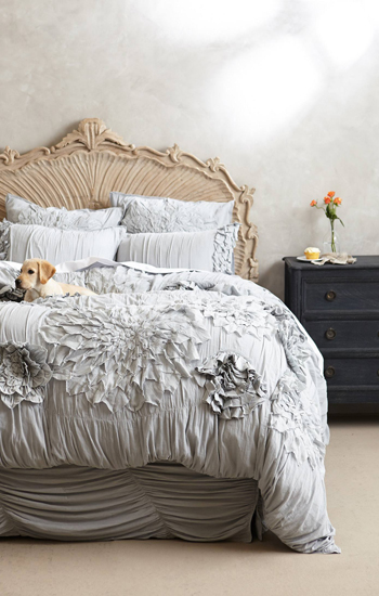 Anthropologie Georgina Duvet in Sky