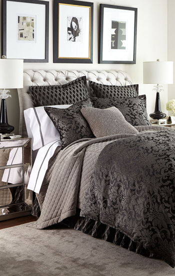 Isabella Collection by Kathy Fielder Hamilton Damask Bedding