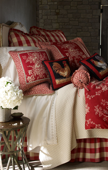 Pacific Coast Home Furnishings French Toile Bedding