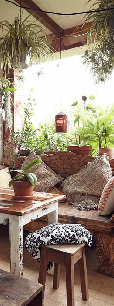 Rustic Bohemian Interior