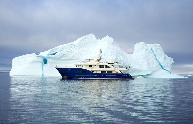 Explorer Yachts News Inace 112 Expedition Yacht Fortrus
