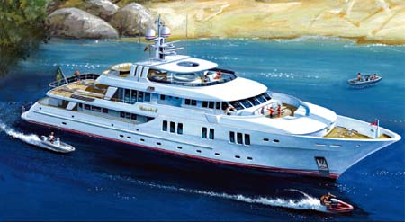 Explorer Yachts News New 135 111 120 And 95 Foot Inace