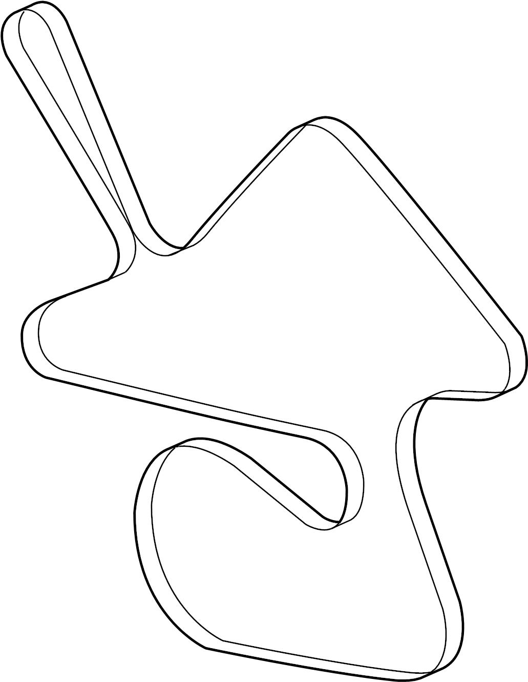Chevrolet Monte Carlo Serpentine Belt Belts Drive