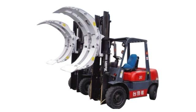 Forklift Swing Frame Paper Roll Clamp - Huamai Technology Co.,Ltd.