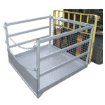 WP-GC18 Forklift good cage attachment