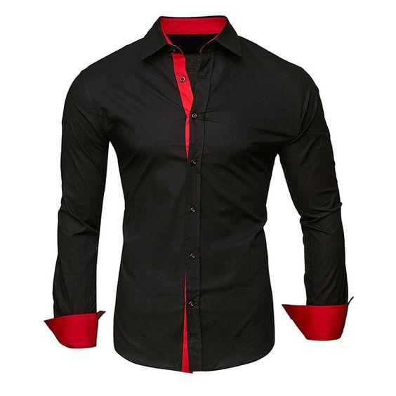 2c123735 MEDUSA MEN'S LONG SLEEVE SHIRTS | FEITONG CLOTHING