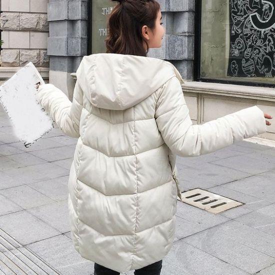 parka jacket womens white