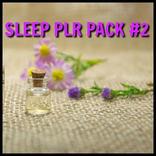 Sleep PLR Pack 2