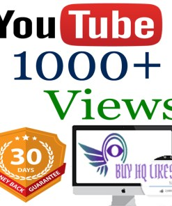 Buy 1000 YouTube Views