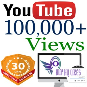 Buy 100,000 YouTube Views