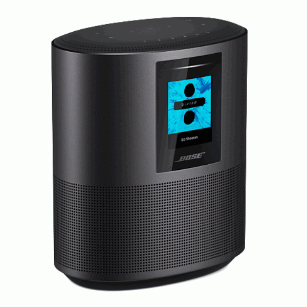 Bose Home Speaker 500, Bose Home Speaker 500 triple black colour, Bose Home Speaker 500 touch panel, Bose Home Speaker 500 display, Bose Home Speaker 500 colour options, Bose Home Speaker 500 availability
