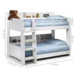 Julian Bowen Domino Kids White Bunk Bed Buyitdirect Ie