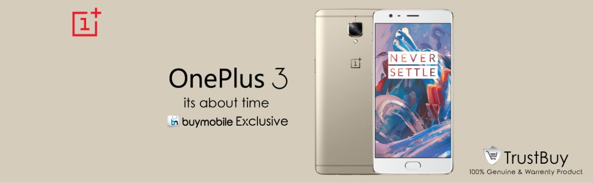 One plus 3 surprising specification