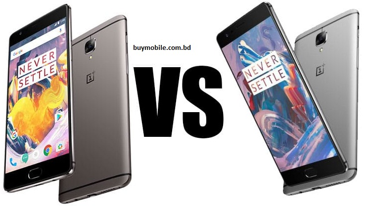 Secret and fantastic comparison of Oneplus 3 and 3T