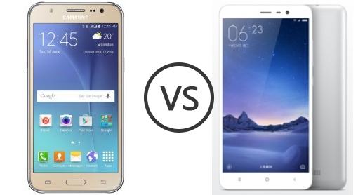 Xiaomi Redmi 3s VS  Samsung J5
